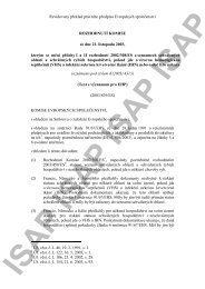 Revidovaný překlad právního předpisu Evropských ... - ISAP