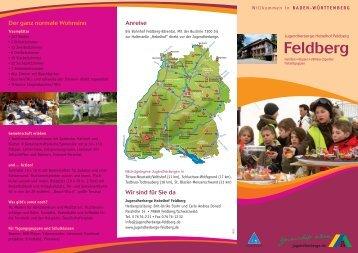 aktueller Hausprospekt - Jugendherberge Hebelhof Feldberg