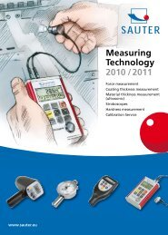 Measuring Technology 2010 / 2011