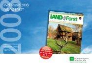 Mediadaten 2008 LAND & FORST