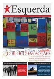 O BLOCO EM ACÇÃO - Esquerda.net