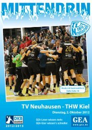 TV Neuhausen -THW Kiel - TV 1893 Neuhausen