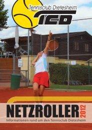 Informationen rund um den Tennisclub Dietesheim - Startseite - TC ...