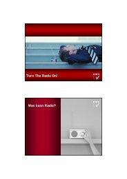 Turn The Radio On! Was kann Radio? - RMS - Austria