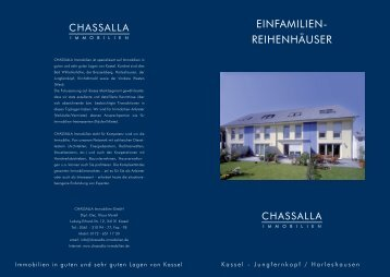 EINFAMILIEN- REIHENHÄUSER - CHASSALLA Immobilien