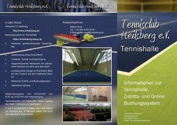 Info Flyer - Tennisclub Heilsberg