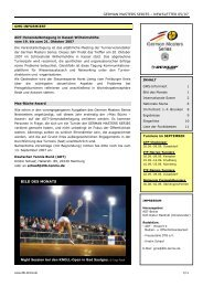 GMS-Newsletter 05/2007 - Deutscher Tennis Bund