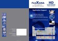 flyer application support - Fluxana