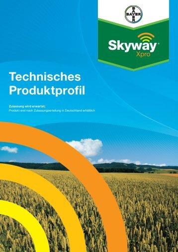 Skyway Xpro Technisches Produktprofil (PDF 1,3 MB - Fungizide