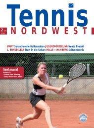 Tennis NORDWEST 2-2009 - Tennisverband NORDWEST eV