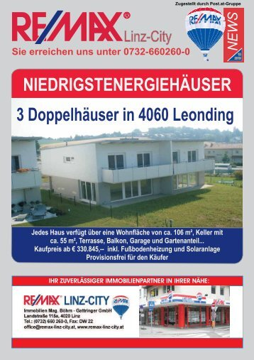 Tel. +43-732-660 260-0 www.remax-linz-city.at