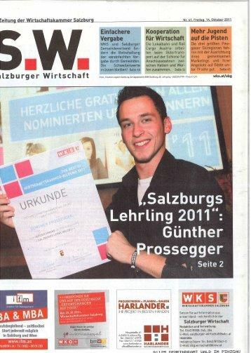 Salzburger Wirtschaft: Prossegger Günther aus ... - Wald im Pinzgau