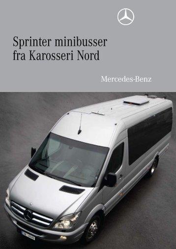 Sprinter minibusser fra Karosseri Nord - Karosseri Nord AS