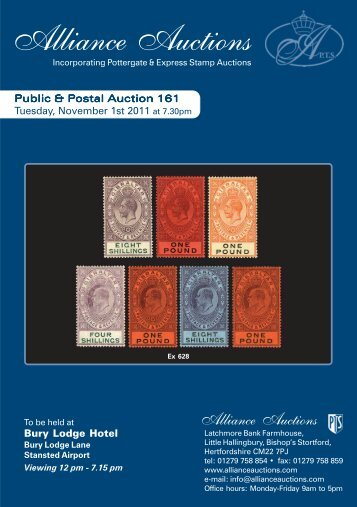 Alliance 161 2.pmd - Alliance Auctions
