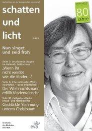schatten und licht 4/2010 schatten und licht 4/2010 - eva