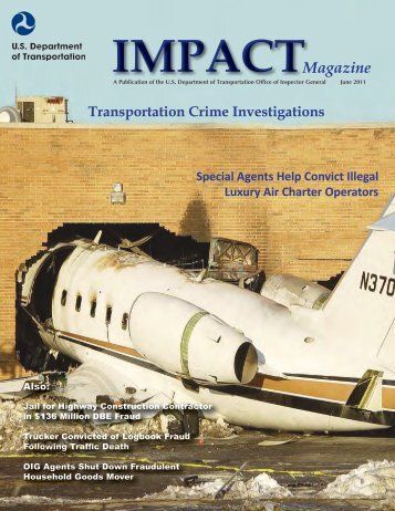 Impact Magazine June 2011 - Office of Inspector General - U.S. ...