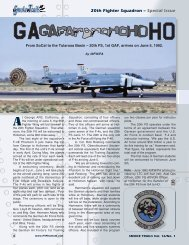 20th Fighter Squadron – Special Issue - F-4 Phantom II Society