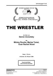 THE WRESTLER - Frenetic