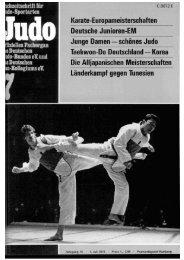 DJB-Magazin Nr. 7 - Chronik des Karate