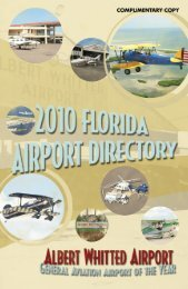 Florida Airport Directory - Florida Aviation Database