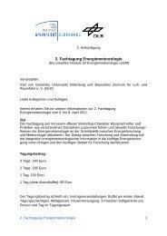 Tagungsprogramm - Energiemeteorologie