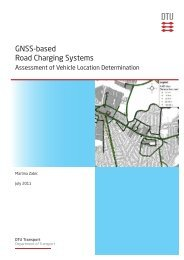 GNSS-based Road Charging Systems 30 Asessment of - Danmarks ...