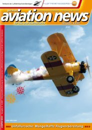 Unfallursache: Mangelhafte Flugvorbereitung »»» - Verband der ...