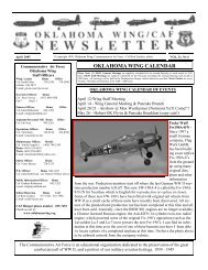CAFNEWSLETTER April 2007.PUB - contrails