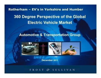 360 Degree Perspective of the Global Electric Vehicle Market - Local ...