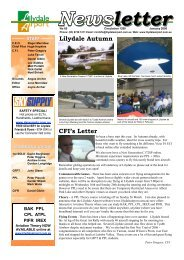 Newsletter letter - Lilydale Airport