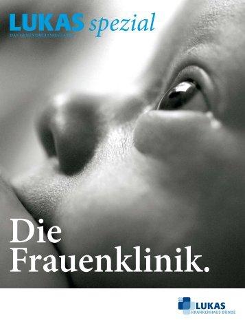 Die Frauenklinik - Lukas-Krankenhaus Bünde