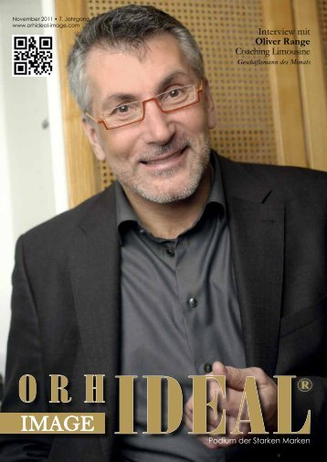 Interview mit Oliver Range Coaching Limousine - Orhideal IMAGE