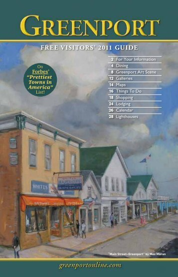 FREE VISITORS' 2011 GUIDE - On Montauk