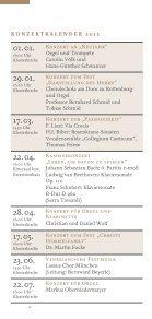 Konzertkalender St. Ottilien 2012 - Sandtner Orgelbau - Page 6