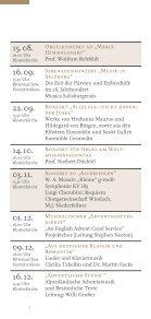Konzertkalender St. Ottilien 2012 - Sandtner Orgelbau - Page 7