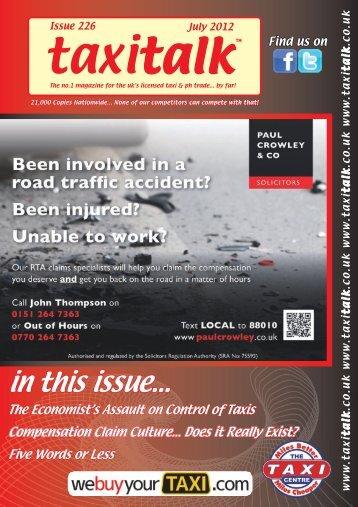 Taxi Talk July 2012.indd