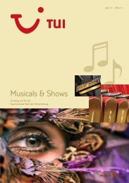 Musicals & Shows - Giata