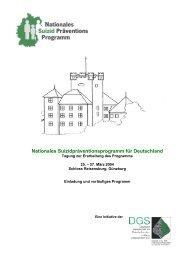 Nationales Suizidpräventionsprogramm für Deutschland - Deutsche ...