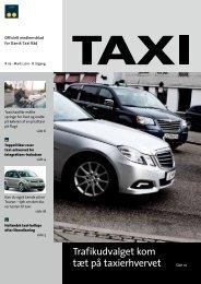 Trafikudvalget kom tæt på taxierhvervet - Dansk Taxi Råd