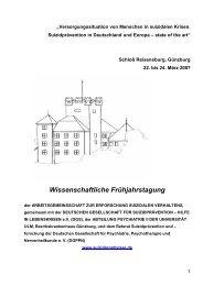 Wissenschaftliche Frühjahrstagung - Deutsche Gesellschaft für ...
