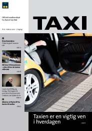 Taxien er en vigtig ven i hverdagen - Dansk Taxi Råd