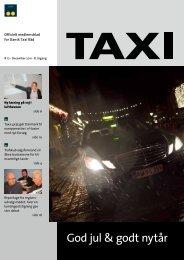 God jul & godt nytår - Dansk Taxi Råd