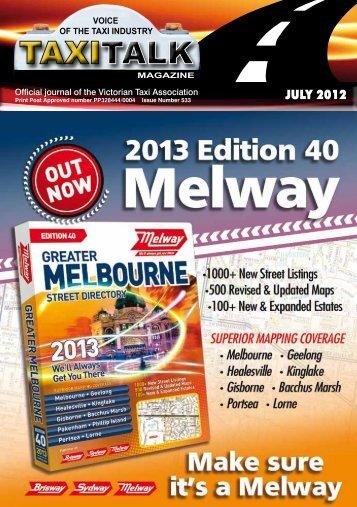 JULY 2012 - Taxi Talk Magazine