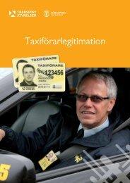 Taxiförarlegitimation - Transportstyrelsen