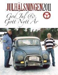 julhälsningen 2011 upplands fordonshistoriker