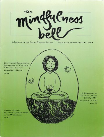 Thay Giac Thanh June 9, 1947 - The Mindfulness Bell