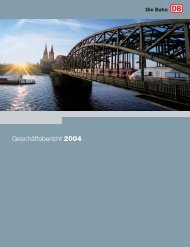 Geschäftsbericht 2004 - Deutsche Bahn AG