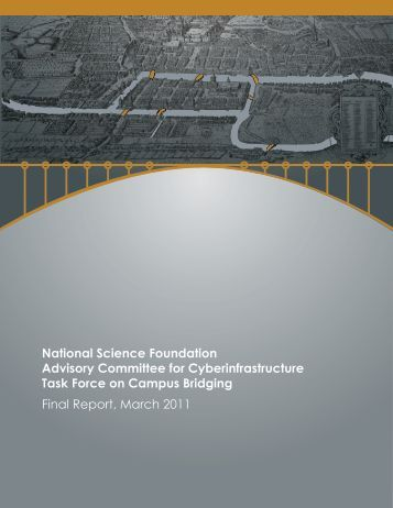 Task Force on Campus Bridging - National Science Foundation