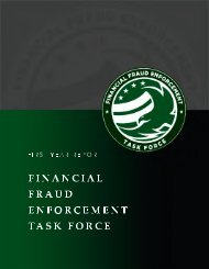 Task Force Annual Report 2010 - StopFraud.gov