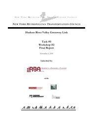 Hudson River Valley Greenway Link Task #5 Workshop #2 Final ...